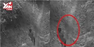 Mạng xã hội xôn xao với video cậu bé bị  ma  dí trong rừng