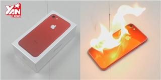 Màn đốt cháy IP7 Red khiến các fan  táo đỏ  phát thèm thuồng
