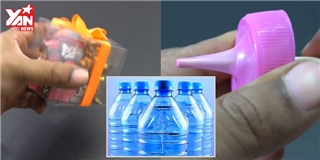 3 mẹo hữu ích lấy nguyên liệu từ chai nhựa cực thú vị