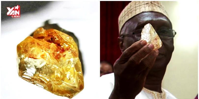 Đào được viên kim cương cực khủng top 20 thế giới giá gần 5 triệu USD