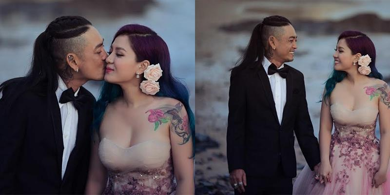 Chuyện tình đẹp nhưng cũng đầy sóng gió của cặp đôi xăm mình