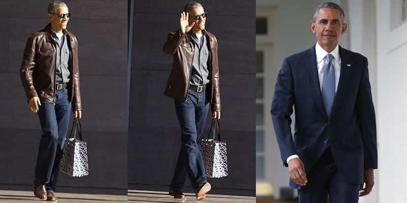 Thích thú với hình ảnh phong cách mới của ông Obama