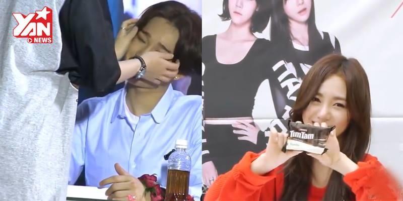 Những khoảnh khắc gần gũi tuyệt vời giữa Thần tượng và Fan Kpop