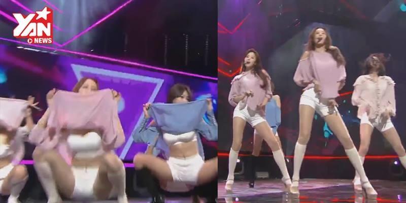 """Vũ đạo và trang phục gây tranh cãi trên chương trình """"M Countdown"""""""