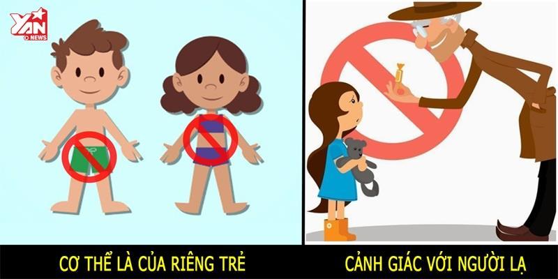 Những quy tắc cần biết để bảo vệ trẻ em trước nạn ấu dâm