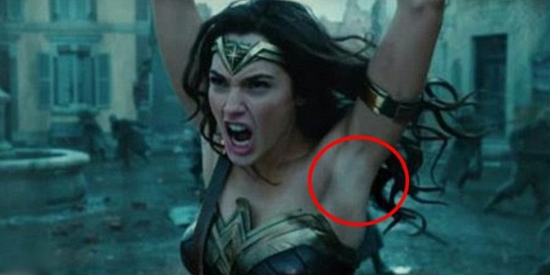 Trailer bom tấn Wonder Woman gây tranh cãi vì nữ chính… tẩy lông nách