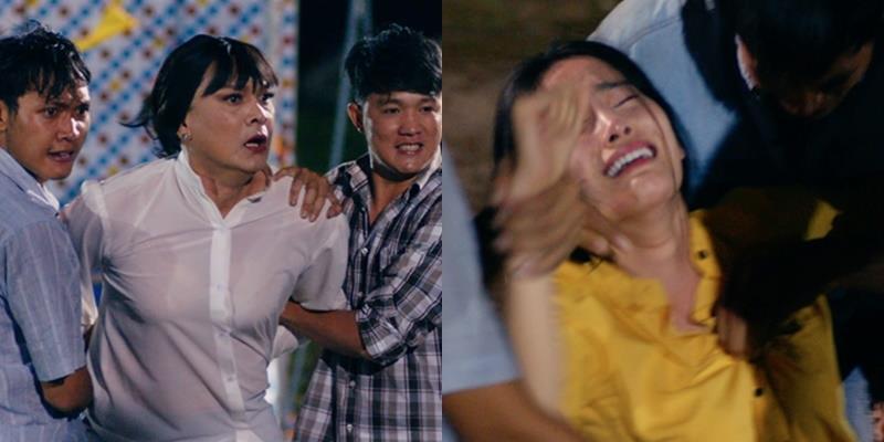 """yan.vn - tin sao, ngôi sao - NSƯT Hữu Châu bất lực, gào khóc nhìn Nam Em bị """"cưỡng hiếp"""""""
