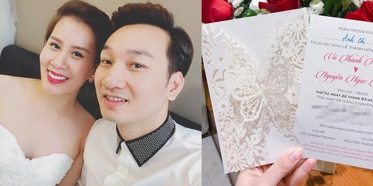 yan.vn - tin sao, ngôi sao - Lộ diện thiệp cưới của MC Thành Trung và bạn gái kém 9 tuổi