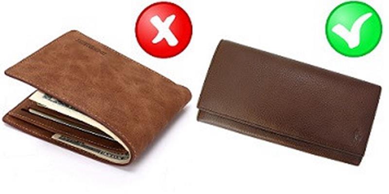 Sai lầm khi dùng ví dẫn đến hao tiền của mà đa số mọi người mắc phải