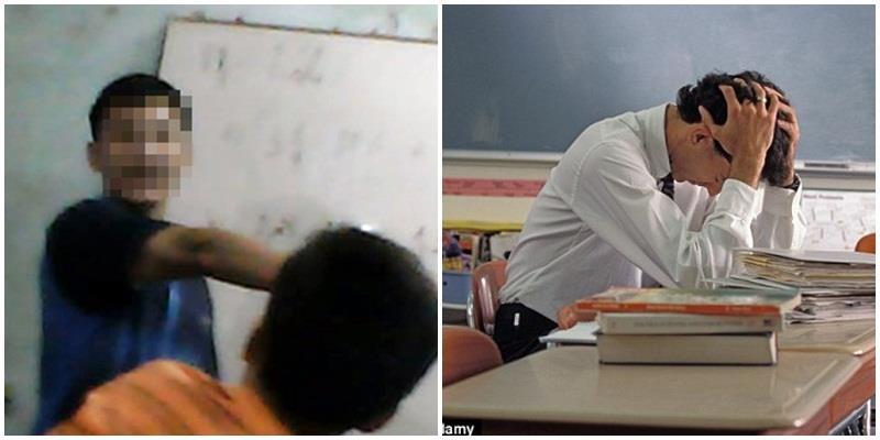 Nam sinh bị thầy giáo dạy Toán đánh vì lỡ... chào thầy bằng tiếng Anh
