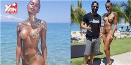 Cô gái mặc bikini có như không, khiến người xem muốn tận mắt kiểm tra