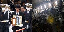 Cận cảnh xác phà Sewol tan hoang sau 3 năm chìm dưới biển