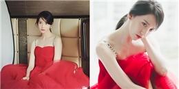 """yan.vn - tin sao, ngôi sao - Diện váy đỏ cúp ngực, Yoona đẹp ngất ngây như """"tiên giáng trần"""""""