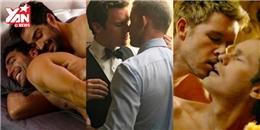Những cảnh nóng đồng tính phim Âu Mỹ đốt cháy màn ảnh