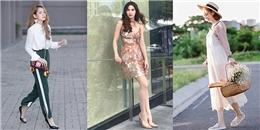 Street style chống nắng đẹp bất chấp của mỹ nhân Việt