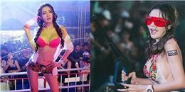 Quá sexy trong lễ hội té nước, mĩ nữ Thái bị 'ném đá' dữ dội