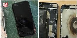 iPhone 7 lại phát nổ trong khi đang cắm sạc