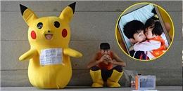 Giả Pikachu, ông bố trẻ khát khao tìm tiền cứu mạng cho con