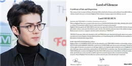 yan.vn - tin sao, ngôi sao - Fan mua trọn mảnh đất ở Scotland để Sehun (EXO) trở thành
