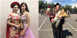 Phi Nhung làm gì trong ngày con gái ruột tốt nghiệp thủ khoa ở Mỹ?