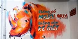 Ấn tượng tranh đường phố khiến Sài Gòn chậm lại vài giây để suy ngẫm