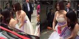 Đừng mắc sai lầm khi chọn nàng phù dâu 'khủng' như đám cưới này