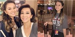 MC Kỳ Duyên khoe con gái tròn 18 tuổi xinh như Hoa hậu