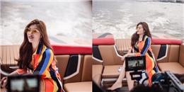 yan.vn - tin sao, ngôi sao - Huỳnh Tiên quay MV đầu tay trên du thuyền triệu đô