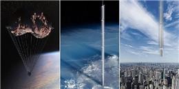 'Siêu dự án' điên rồ - tòa tháp treo lơ lửng dưới một tiểu hành tinh