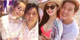 yan.vn - tin sao, ngôi sao - Trường Giang tình tứ đón tuổi mới ngọt ngào bên bạn gái Nhã Phương