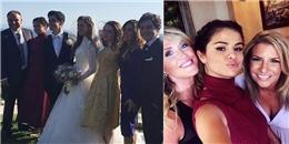 yan.vn - tin sao, ngôi sao - Selena Gomez diện đầm lộng lẫy dự đám cưới