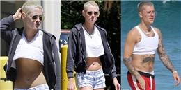 Cạo đầu húi cua nhuộm vàng, Kristen Stewart trông y hệt… Justin Bieber