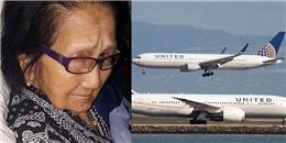 Hãng United Airlines bị chỉ trích vì ngược đãi cụ bà 94 tuổi