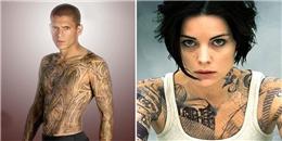 Những nhân vật xăm trổ bá đạo nhất phim truyền hình Mỹ