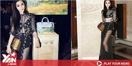 yan.vn - tin sao, ngôi sao - Phạm Băng Băng khoe dáng chuẩn với đầm xuyên thấu sau tin đồn đính hôn