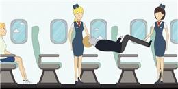 Phi hành đoàn sẽ làm gì khi bất ngờ có người đột tử trên máy bay?