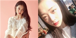 """yan.vn - tin sao, ngôi sao - Sulli giản dị và Sulli """"chải chuốt"""": Phong cách nào cũng là """"nữ thần"""""""