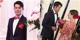 yan.vn - tin sao, ngôi sao - Ảnh đế U50 Quách Phú Thành điển trai, rạng rỡ bên cô dâu kém 23 tuổi