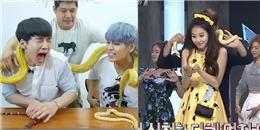 Cười ngả nghiêng với biểu cảm của sao Hàn khi bất ngờ gặp động vật lạ