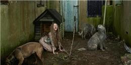 Những đứa trẻ tội nghiệp nhận được sự cưu mang từ động vật