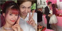 Clip lễ ăn hỏi tràn ngập màu hồng của Khởi My và Kelvin Khánh