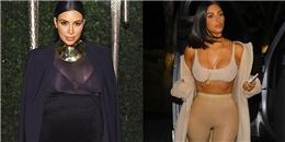 Bất ngờ trước thân hình thon thả hệt gái đôi mươi của Kim Kardashian