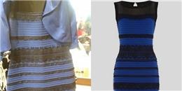 Lời đáp cho cuộc tranh cãi 2 năm trước: váyxanh-đen hay vàng-trắng?