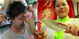 Nổi da gà với phương pháp massage bằng dao phay chặt xương