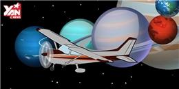 Điều gì sẽ xảy ra khi 1 chiếc máy bay lượn qua 8 hành tinh?