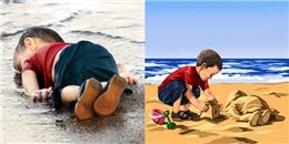 'Ở một thế giới khác': Bộ ảnh trả lại tuổi thơ bị tước đoạt cho trẻ em
