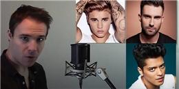 Thích thú trước chàng trai giả giọng 22 ca sĩ nổi tiếng trên thế giới