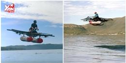 Cận cảnh chiếc thuyền bay như trong phim khoa học viễn tưởng