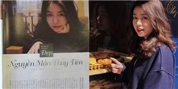 Mẫn Tiên bất ngờ xuất hiện đầy ấn tượng trên tạp chí Nhật Bản