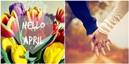 Top 5 cung hoàng đạo có tình yêu đẹp như mơ trong tháng 4